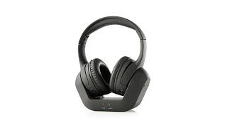 Brookstone Digital Wireless TV Headphones with Base