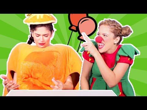 فوزي موزي وتوتي - توتي المهرجة - Tutti the clown