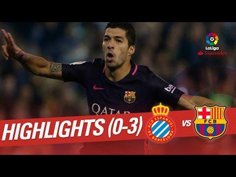 Resumen de RCD Espanyol vs FC Barcelona (0-3)