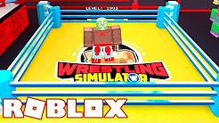Roblox → SIMULADOR DE LUTA LIVRE (WWE)