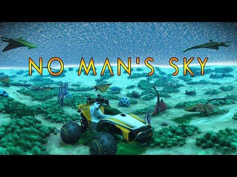 НА ВЕЗДЕХОДЕ ПОД ВОДОЙ. ВСЕ СУЩЕСТВА НА ЛУНЕ (ВИДЫ РЫБ) - No Man's Sky #39