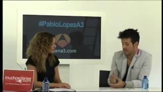 Pablo López en el encuentro de Antena 3 (parte 2)