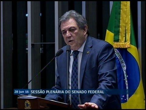 Waldemir Moka discorda de críticas ao governo Temer e pede união dos senadores em defesa do País