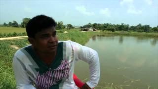 Fish farmer - Khaireni, Chitwan.