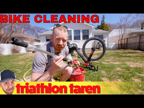How Triathletes Can Clean a Bike In Five Minutes