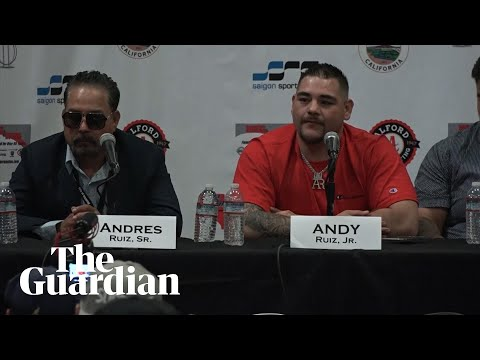 Andy Ruiz Jr: 'Anthony Joshua is not good at boxing'