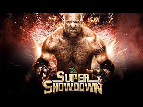WWE: Super ShowDown 2020