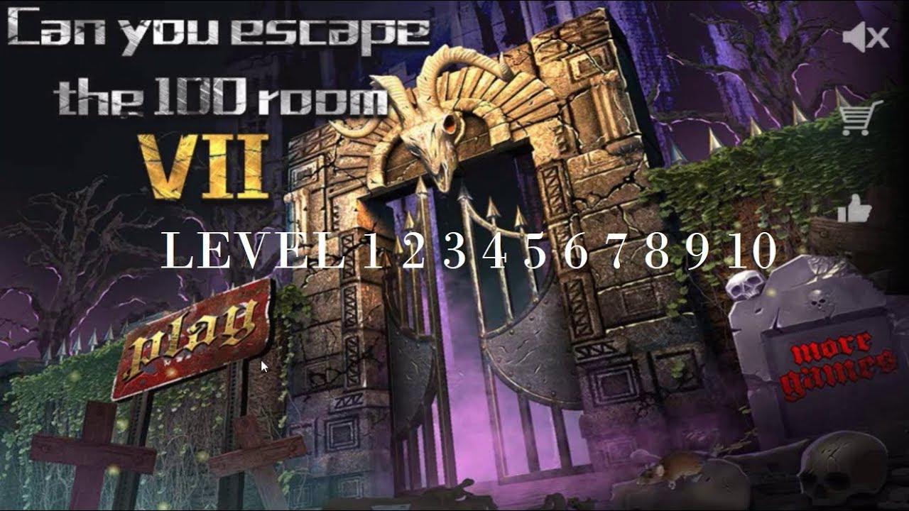 Can You Escape The 100 Rooms Vii Level 1 2 3 4 5 6 7 8 9 10 Youtube