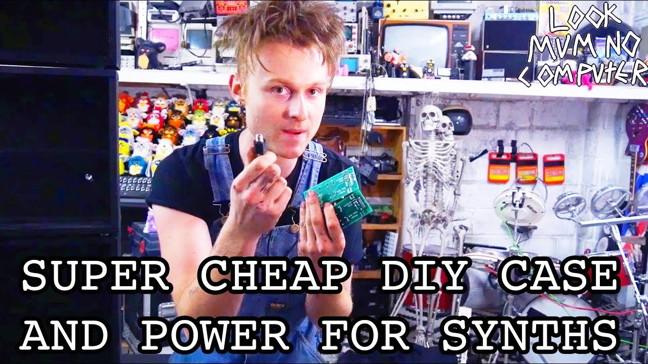 build a diy case and power supply for a modular synth cheap youtube. Black Bedroom Furniture Sets. Home Design Ideas