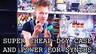 Build A DIY Case And Power Supply For A Modular Synth CHEAP