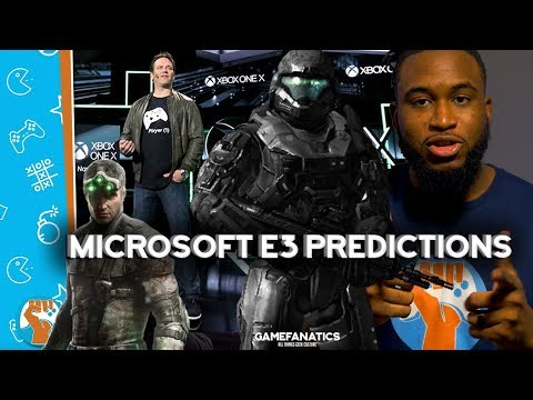 5 Microsoft E3 Predictions For E3 2018! A New Halo Game? Crackdown 3? And More! | Fanatical Five