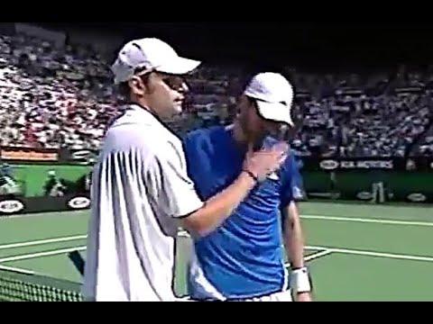 Andy Roddick vs Mardy Fish 2007 AO Highlights