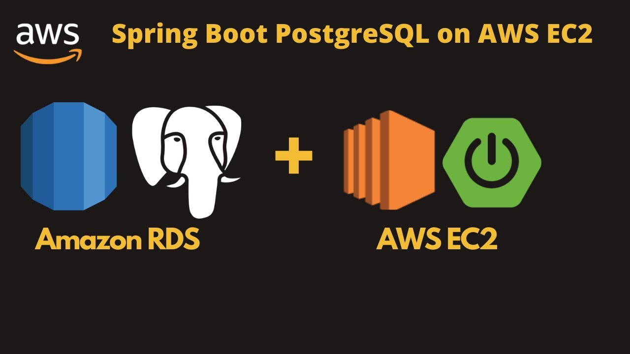 Create and connect PostgreSQL by using AWS RDS and integrate with spring boot application in AWS EC2