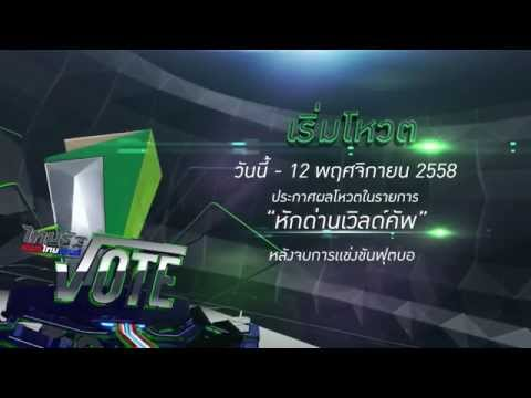 """ใครจะเป็น """"นักฟุตบอลไทยขวัญใจมหาชน"""" คุณเป็นคนเลือก!"""