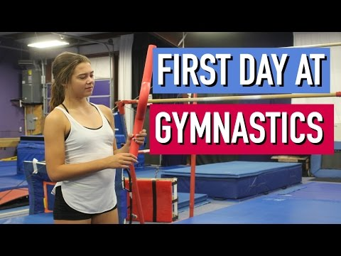 First Day of Gymnastics (Skit)