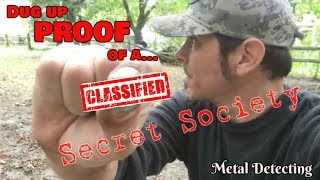 Metal Detecting discovery confirms Secret Society existence
