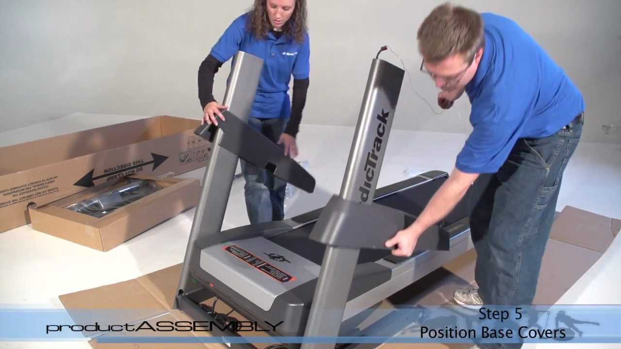 embly 24917 Nordictrack Commercial 1750 Treadmill - YouTube on