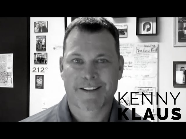 Realtor Kenny Klaus, embraces iBuyers to grow his farming based business