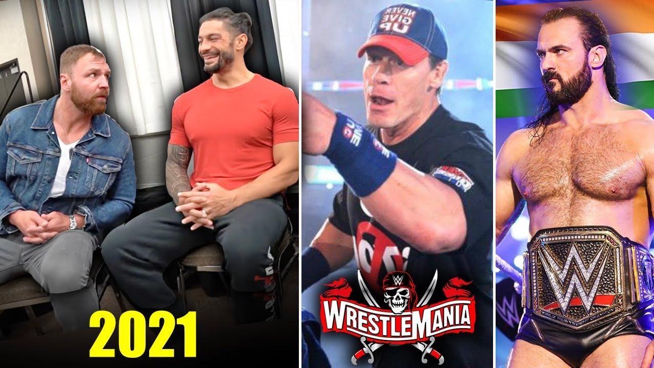 John Cena 2021 Return CONFIRMED !? Roman Reigns & Ambrose in 2021, McIntyre WWE INDIA🇮🇳, SD Rating