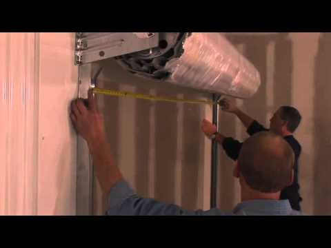 Clopay 200m Mini Storage Roll Up Door Installation Instructions