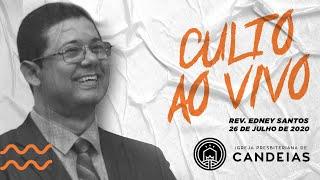 Culto Ao Vivo | 26 de julho de 2020 - 19h