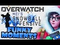 Overwatch Funny Moments Ep.6 MEI'S SNOWBALL OFFENSIVE! New Holiday Event!