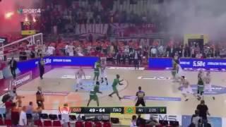 Match Olympiakos vs. Panathinaikos going mad [11/06/2017]