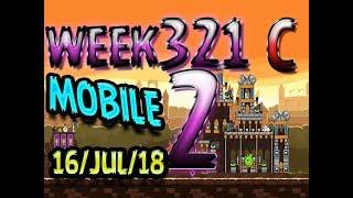 Angry Birds Friends Tournament Level 2 Week 321-C  MOBILE Highscore POWER-UP walkthrough