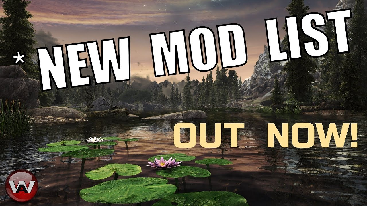 Skyrim Se Mod List 2020.New 2020 Mod List Perfect Vision Out Now At Skyrim Special