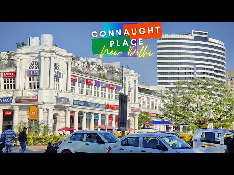 New India - Connaught Place | The Heart of Delhi | Road Tour