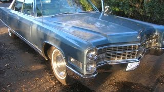 1966 Cadillac Fleetwood Brougham Description with test drive