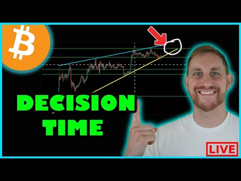 BITCOIN DECISION TIME + ETHEREUM HITS 2700