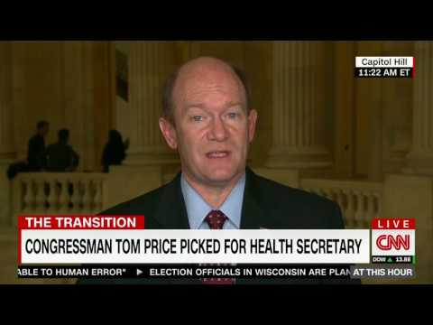 Senator Coons joins Berman and Bolduan on CNN November 29, 2016