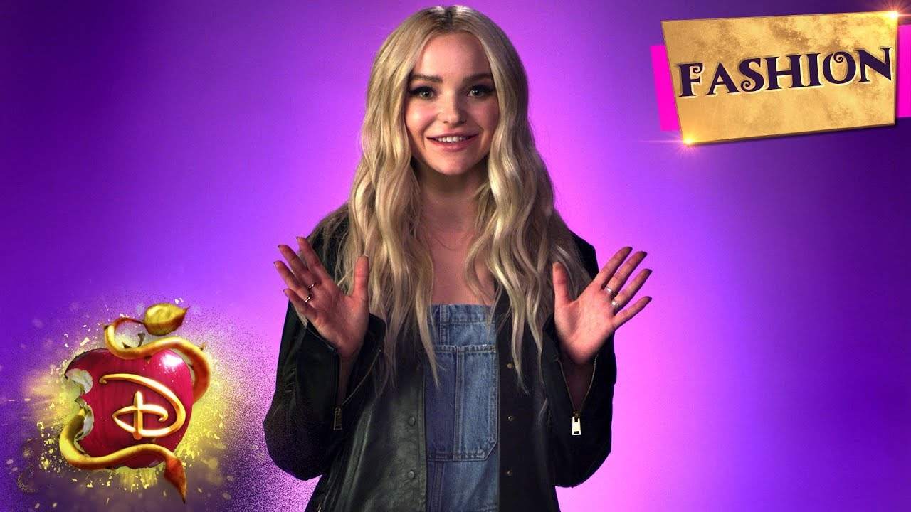 Dove Cameron Talks D3 Fashion 👗 | Descendants 3