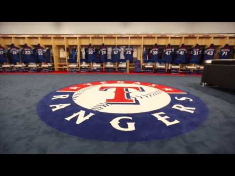 Tour New Rangers Spring Training Clubhouse