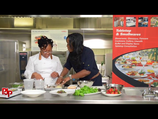 Eboni Peartree Makes Strawberry Shortcake