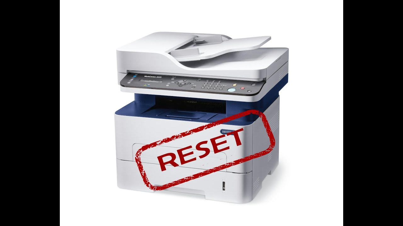 Reset Resoftare Xerox Workcentre 3025 3215 3225 3315 3325 Bi Ni