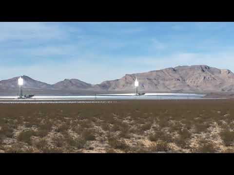 Solar energy - artificial suns in the Mojave desert