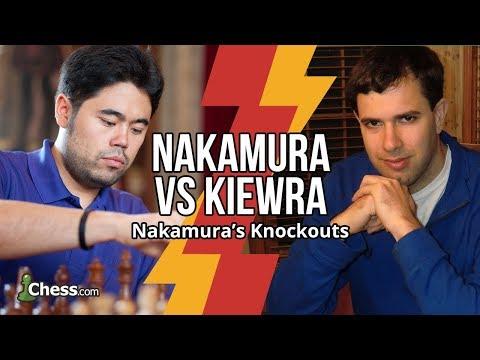 Nakamura Vs IM Kiewra: 9 Blitz Chess Games