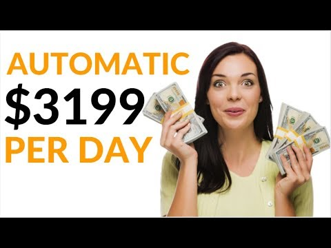 Earn $3199 Per Day For FREE AUTOMATICALLY! (Make Money Online)