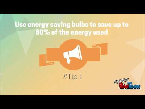 Electrician tips to save energy