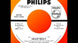 HEARTBEAT, The Whirlwinds, Philips #40139  1963