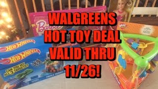 Hot Walgreens Toy Deal...buy 2 & Get 2 Free! Valid Thru 11/26.