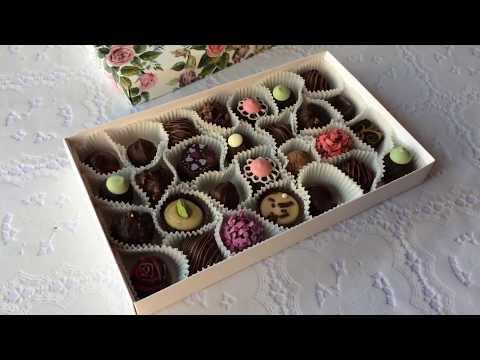 Как приготовить шоколадные трюфели. Рецепт - Artisan chocolate truffles. Recipe