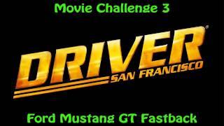 Драйвер: Сан-Франциско - фільм виклик 3 - Форд Мустанг GT фастбек