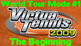 Virtua Tennis 2009 - World Tour #1 - The Beginning
