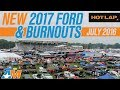 2017 Ford GT Up Close, Burnout w/ Jalopnik & Loudest 2015 Mustang Exhaust! - HOT LAP