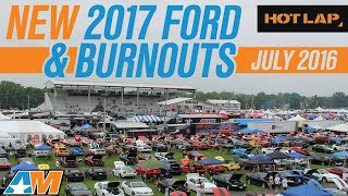 hl 2017 ford gt up close burnout w jalopnik loudest 2015 mustang exhaust americanmuscle com