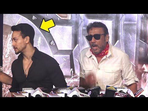 Tiger Shroff Embarrassed Of Jackie Shroff's WEIRD BEHAVIOUR At Baaghi 2 Promotions