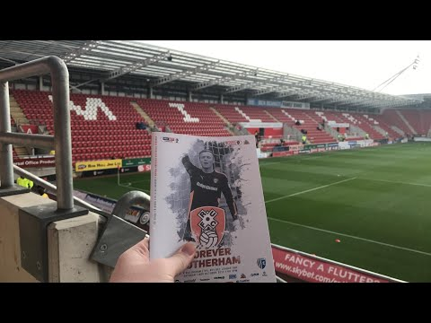 Rotherham United Vs Gillingham - Match Day Experience